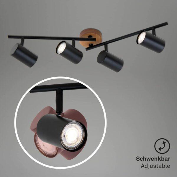 Briloner Leuchten 2920-045 Retro, Vintage griestu lampa 4