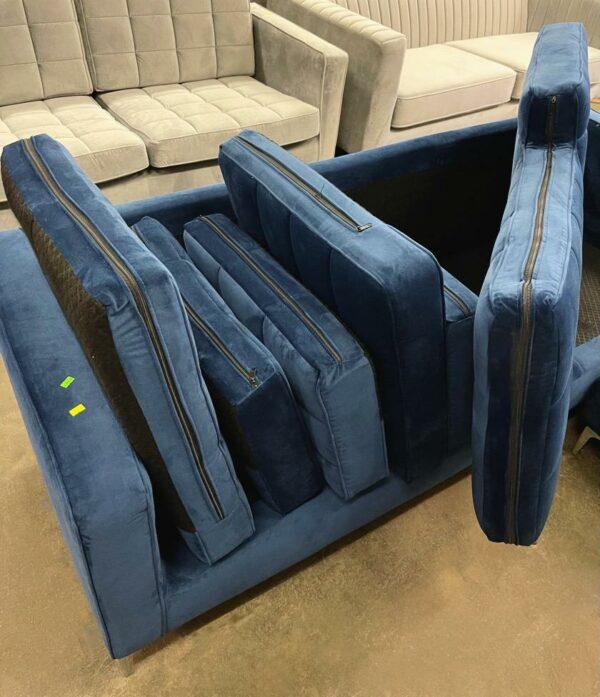 Nimbus dīvāns (tumši zils) 3
