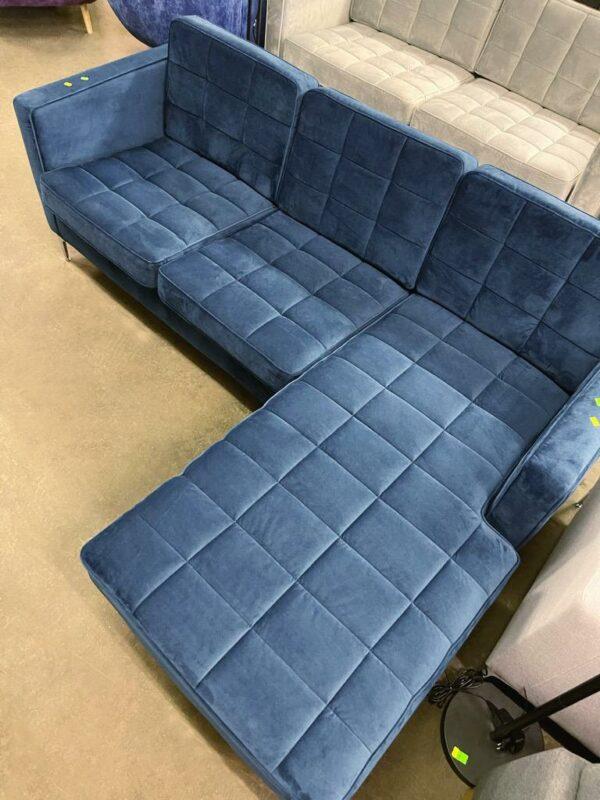 Nimbus dīvāns (tumši zils) 4