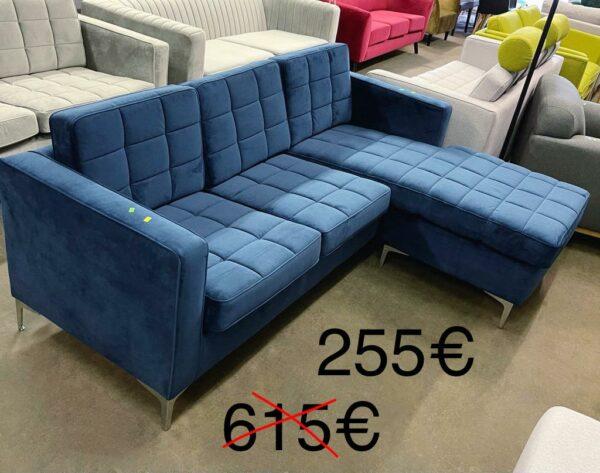 Nimbus dīvāns (tumši zils) 1