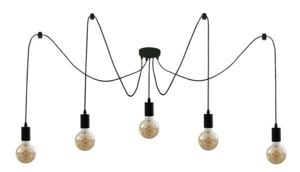 Briloner Black Steel griestu lampa 4002707367178 1