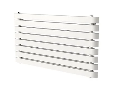 Wilsona dizaina horizontālais radiators (balts) (W)1200mm (H)620mm 2