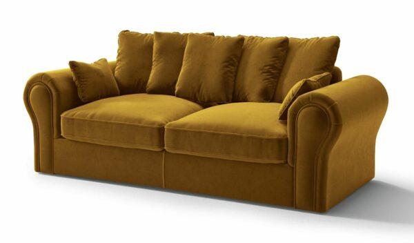 Baron 3vietīgais dīvāns (sinepju) 1