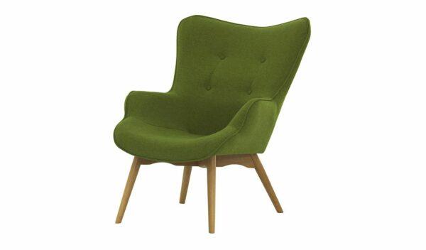 Ontario Ducon atzveltnes krēsls (tumši zaļš) 1