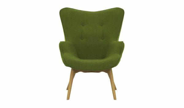 Ontario Ducon atzveltnes krēsls (tumši zaļš) 2