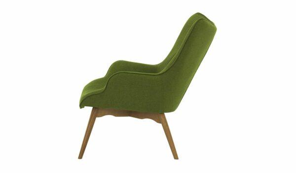 Ontario Ducon atzveltnes krēsls (tumši zaļš) 3