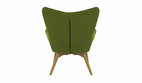 Ontario Ducon atzveltnes krēsls (tumši zaļš) 4