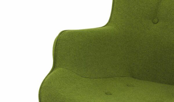 Ontario Ducon atzveltnes krēsls (tumši zaļš) 5